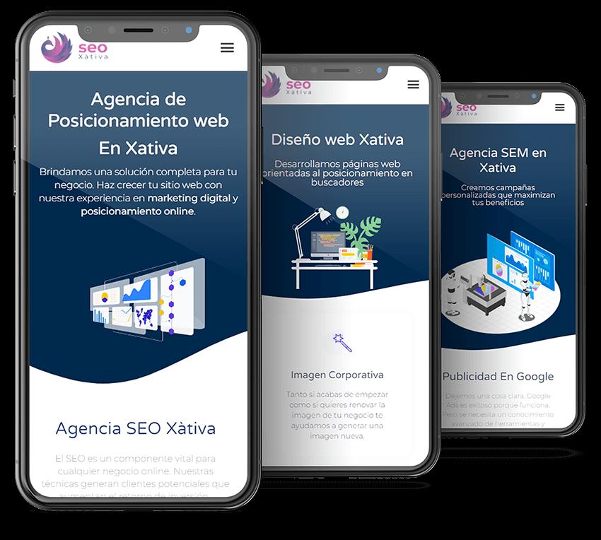 Diseño de paginas web y marketing online en xativa